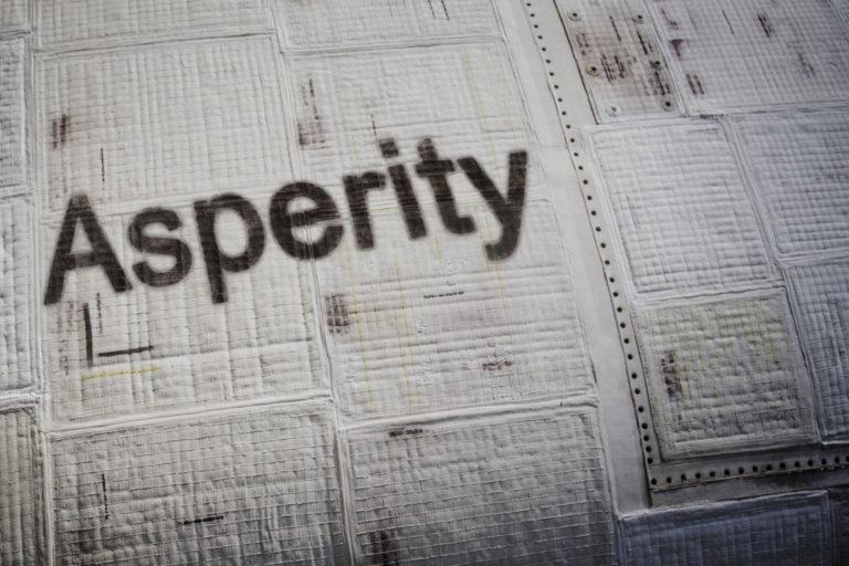 _asperity shuttle branding